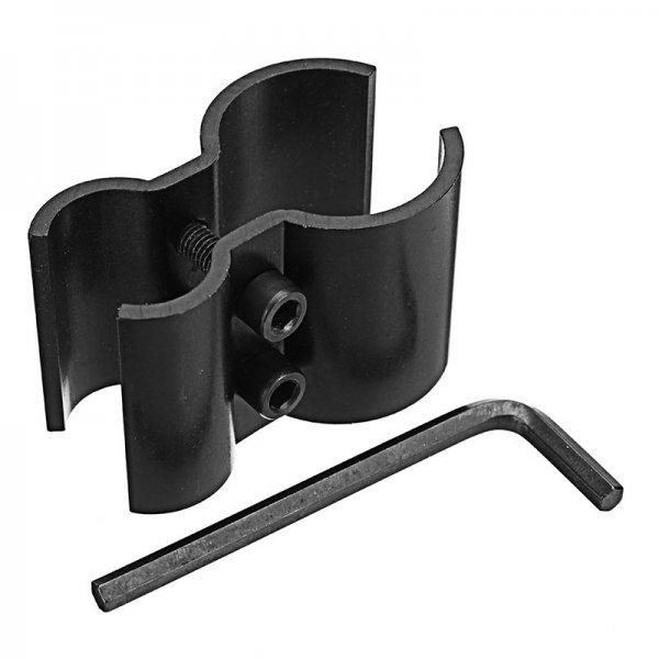 Tactical Dual Barrel Ring Barrel Mount Clamp Holder for Flashlight Torch Scope Laser Sight 1