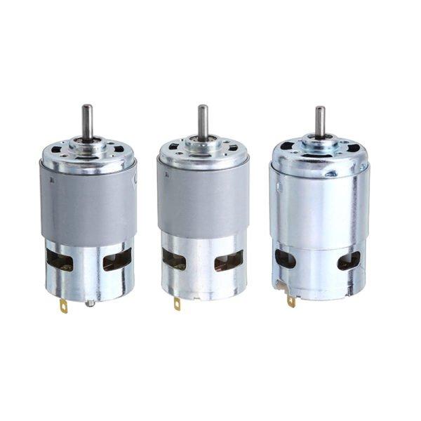 Machifit 775 795 895 Motor/Motor Bracket DC 12V-24V 3000-12000RPM Motor Large Torque Gear Motor 1