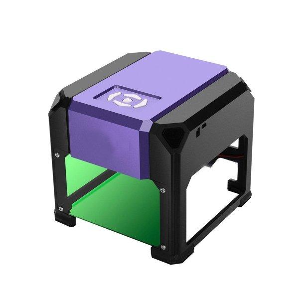 3000mW Purple DIY Laser Engraving Machine Desktop Logo Marking Engraver Mark Carver Printer 1