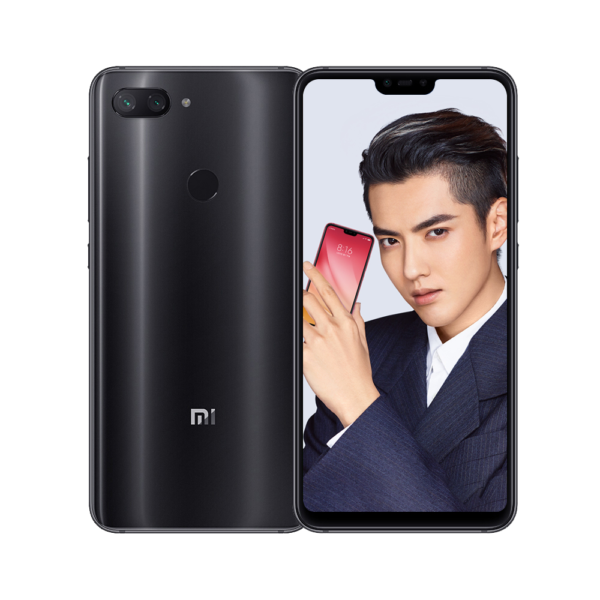 "Global Version Xiaomi Mi 8 Lite 4GB 64GB Smartphone 6.26"" FHD+19:9 Full Screen 24MP Front Camera Deep Gray 1"