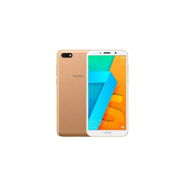 Huawei Honor 7S 4G Smartphone 5.45 inch 18:9 Fullview 2GB RAM 16GB ROM Android Mobile Phone Gold 1