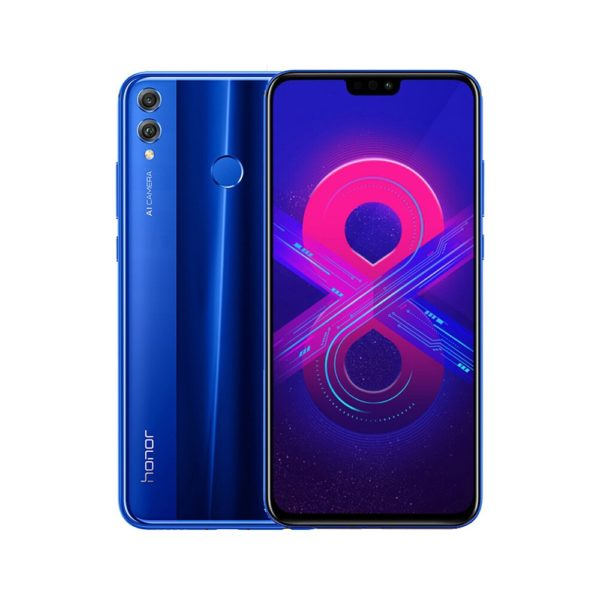 Huawei Honor 8X Mobile Phone 6.5 inch 4+128GB Android 8.1 Kirin 710 Octa Core 4G Smartphone Dual Rear Camera US Version - Blue 1