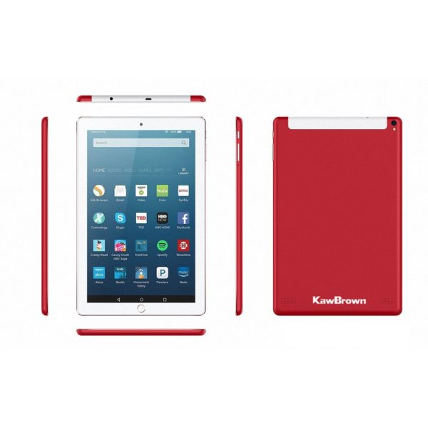 Kawbrown 10 Inch Android LTE Tablet PC 1RAM 16GB Red 1