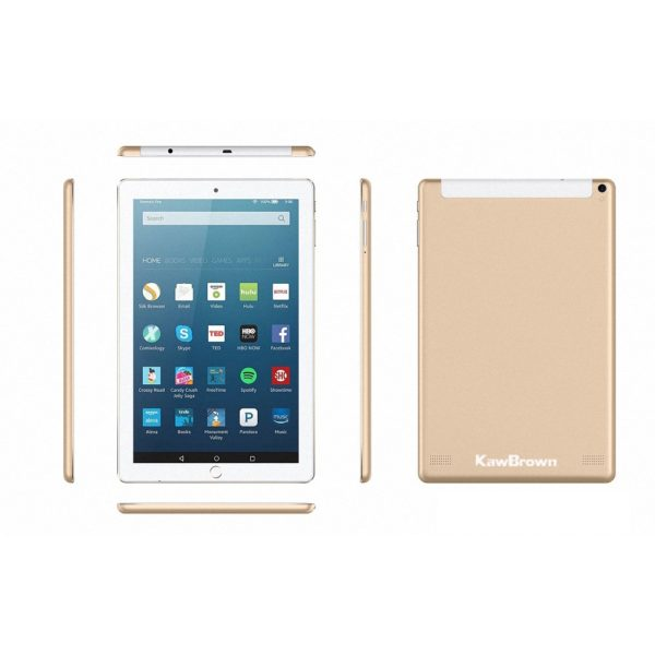 Kawbrown 10 Inch Android LTE Tablet PC 1RAM 16GB Gold 1