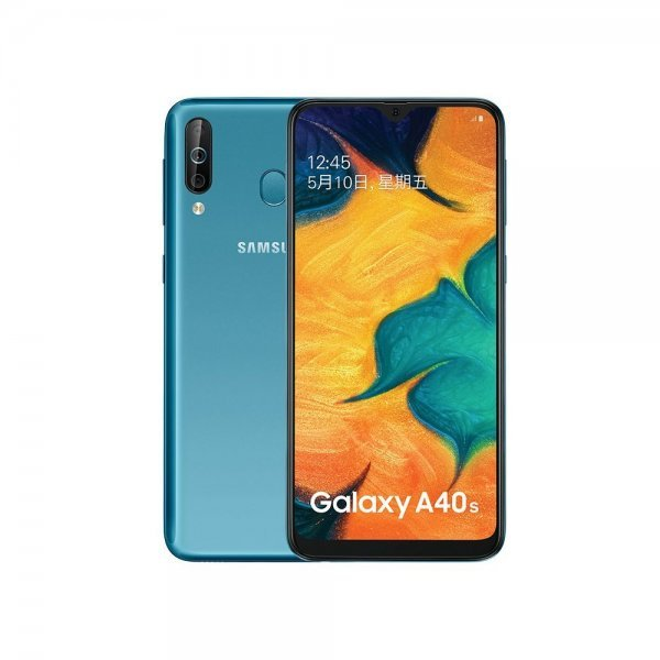 Samsung Galaxy A40s 6+64GB 4G LTE Android Smartphone 6.4 Inch 5000mAh unlock Mobile phone Water Blue 1