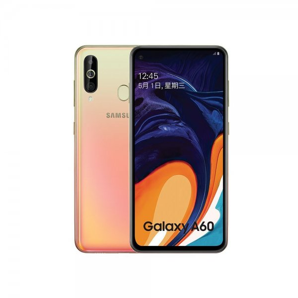 Samsung Galaxy A60 6+128GB 4G Android Smartphone 6.3 inch Full Scree 3500mAh 32MP Camer NFC Cellphones Warm Orange 1