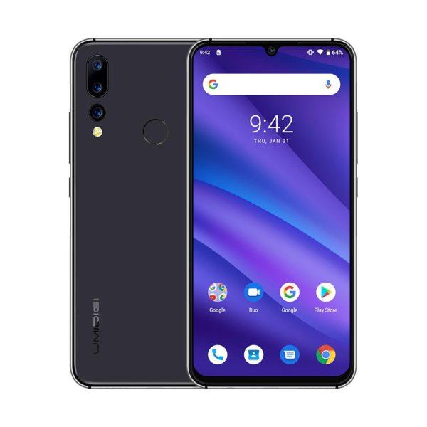 UMIDIGI A5 PRO 4G Smartphone Android 9.0 Octa Core 6.3' 4GB RAM 32GB ROM 4150mAh Celular Mobile Phone Deep Gray-EU 1