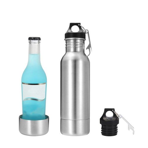 12oz Stainless Steel Beer Bottles Holder Cooler Cold Beer Keeper Separator Insulator 1