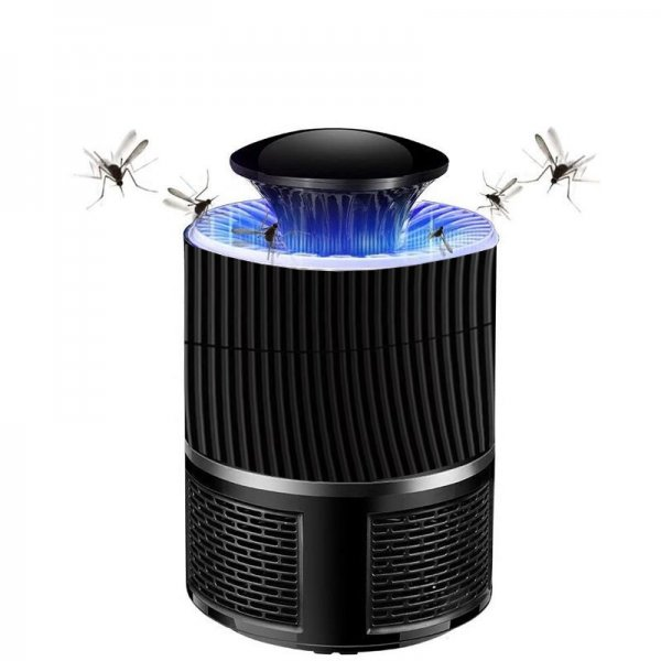 5W LED Mosquito Killer Lamp USB Insect Killer Lamp Bulb Non-Radiative Pest Mosquito Trap Light For Camping 1