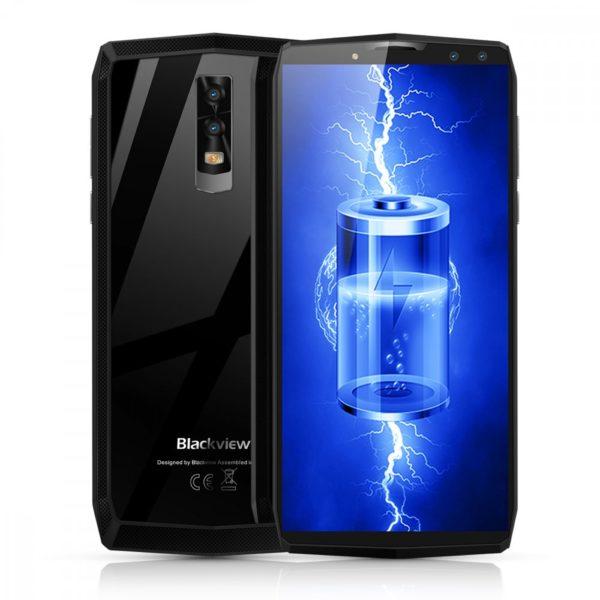Blackview P10000 Pro 5.99 Inch FHD+ Full Screen 4GB RAM + 64GB ROM MT6763 Octa Core Smartphone Glass Black 1