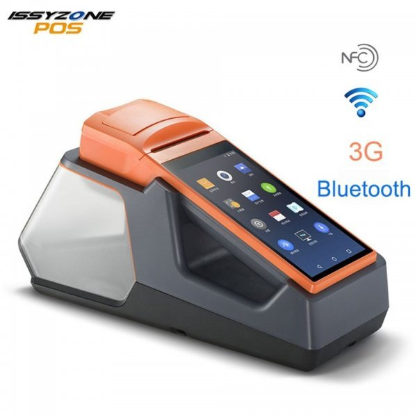 Android NFC Handheld POS Terminal Thermal Printer WIFI Bluetooth 3G 1