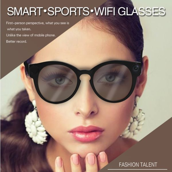 1080P Smart video glasses Built-in WIFI Support for IOS android mobile phone Live webcast 1
