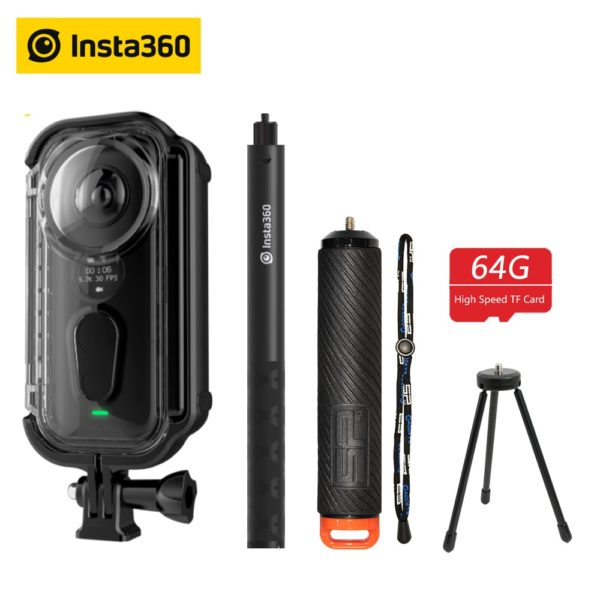 Insta360 ONE X Action Camera VR 360 Panoramic Camera For iPhone and Android 1