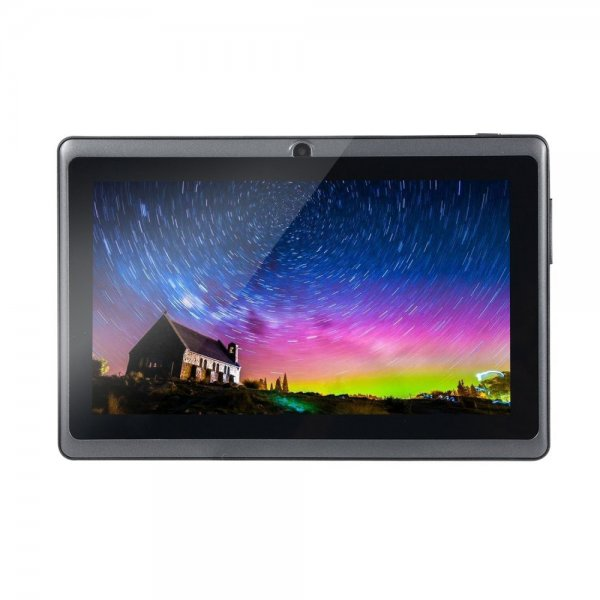 Wifi Version 7.0-Inch HD Display 30W Front Camera 512MB RAM+4GB ROM 2200mAh Tablet Black (EU Plug) 1