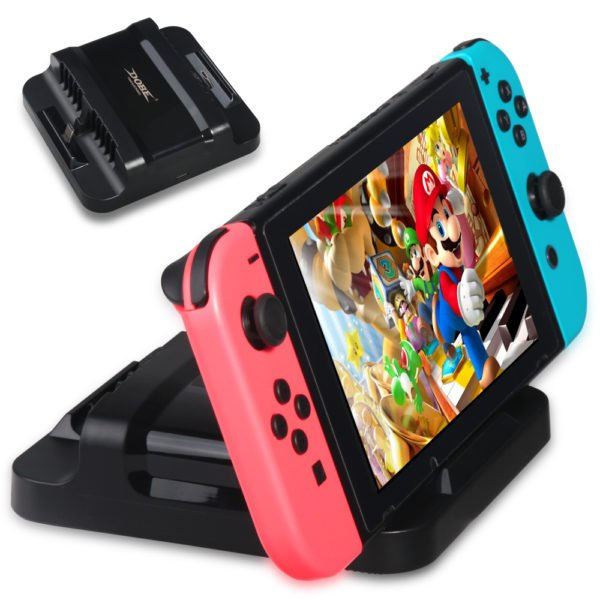 DOBE TNS-853A Dual Charging Dock Stand Charger Station for Nintendo Switch Game Console 1