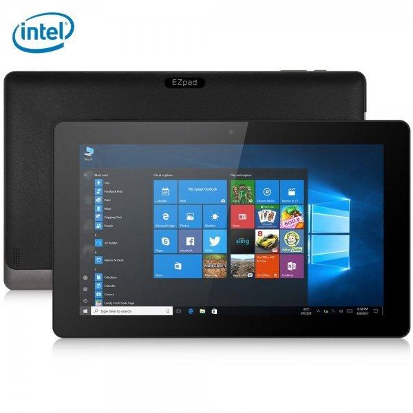 Jumper EZpad 4S Pro Tablet PC 10.6 inch Windows 10 English Version Intel Cherry Trail X5-Z8350 Quad Core 1.44GHz 4GB RAM 64GB ROM HDMI Bluetooth 4.0 (BLACK) 1