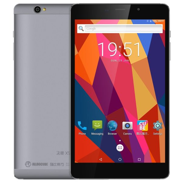 ALLDOCUBE Free Young X5 ( T8 Pro ) 4G Phablet 8.0 inch Android 7.0 MTK8783 Octa Core 1.5GHz 3GB RAM 32GB ROM 13.0MP Rear Camera OTG (GRAY) 1