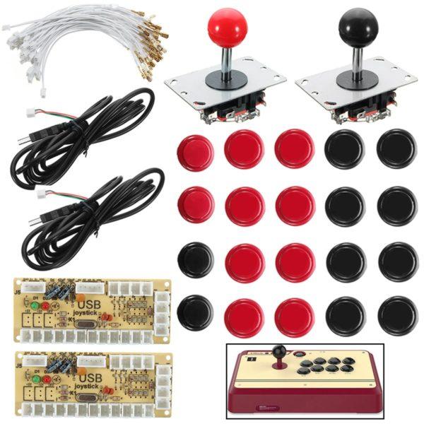 Joystick Push Button Zero Delay Arcade Game DIY Kit For MAME 1
