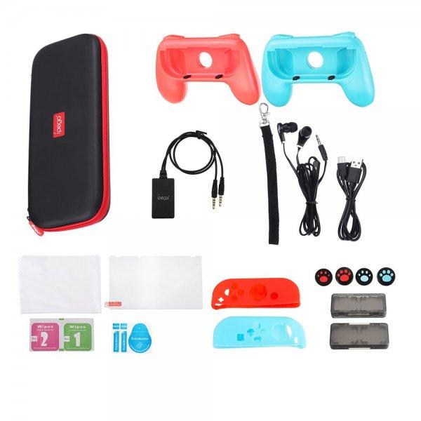 iPega PG-9182 18 in 1 Set Carrying Storage Bag for Nintendo Switch 1