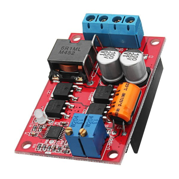 MPPT 5A Solar Panel Regulator Controller Battery Charging 9V 12V 24V Automatic Switch 1
