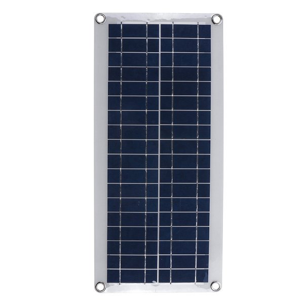 DC 12V/18V Solar Panel Double 5V USB Port Charging Battery Charger For Camping Traveling 1