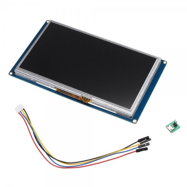 Nextion NX8048T070 7.0 Inch HMI Intelligent Smart USART UART Serial Touch TFT LCD Screen Module Display Panel For Raspberry Pi Arduino Kits 1
