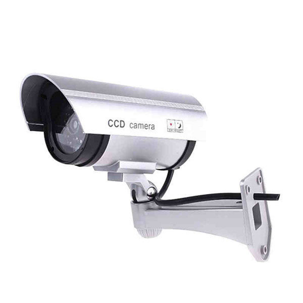 CA-11-01 Dummy Fake Outdooors Waterproof Surveillance CCTV Security Camera Flashing Red Led Light 1