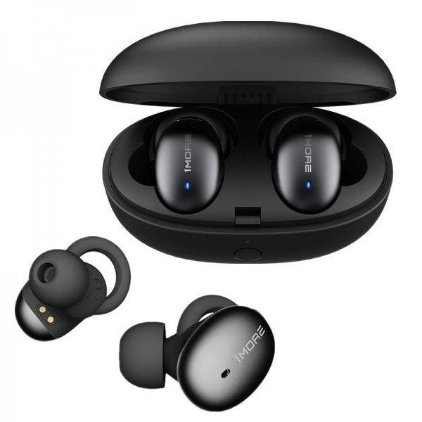 1More E1026BT TWS bluetooth 5.0 Earphone HiFi AAC Bilateral Call DSP Noise Cancelling Headphone with Charging Box from Xiaomi Eco-System 1