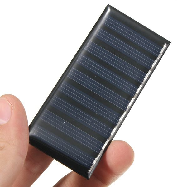 5V 0.5W Polycrystalline Solar Panel Module System Solar Cells Charger 1