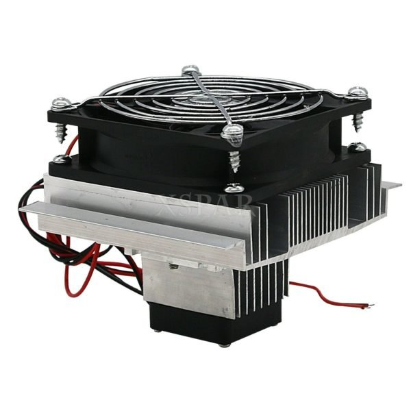 DIY Thermoelectric Refrigeration Cooler Fan Cooling System TEC1-12706 1