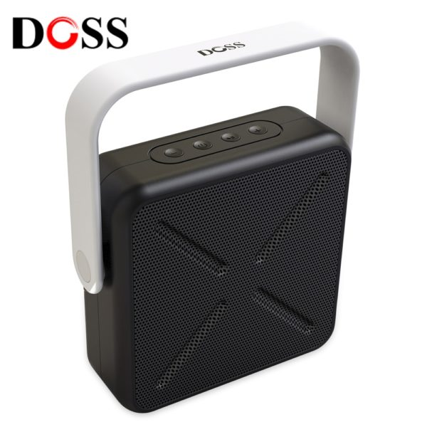 DOSS DS - 2022 Outdoor Portable Wireless Bluetooth Stereo Speaker Mini Player (WHITE) 1