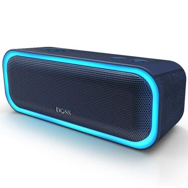 Doss DS - BT10 Pro Wireless Bluetooth Stereo Speaker Bass Soundbox with LED Light 1