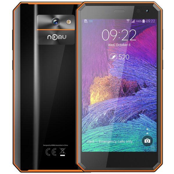 NOMU M6 4G Smartphone 5.0 inch Android 7.0 MTK6737VWT Quad Core 1.5GHz 2GB RAM 16GB ROM 8.0MP Rear Camera 3000mAh Battery 1