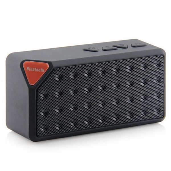 ZH - X3 Surround Sound Effect / Hands-free Communication / Support TF Card Bluetooth Speaker (GREEN APPLE) 1