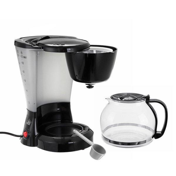 1.2L Electric Drip Coffee Tea Espresso Maker Automatic Filter Machine 10-12 Cups Coffee Machine 1