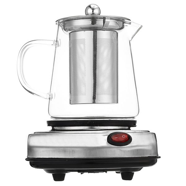 Electric Stove Mini Coffee Brewing Tea Stove Glass Tea Maker Electric Kettle Water Heater 1
