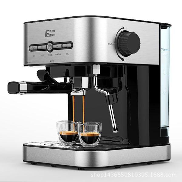 FXUNSHI MD-2009 1.4L 950W Semiautomatic Espresso Milk Bubble Maker Italian Coffee Machine (BS) 1