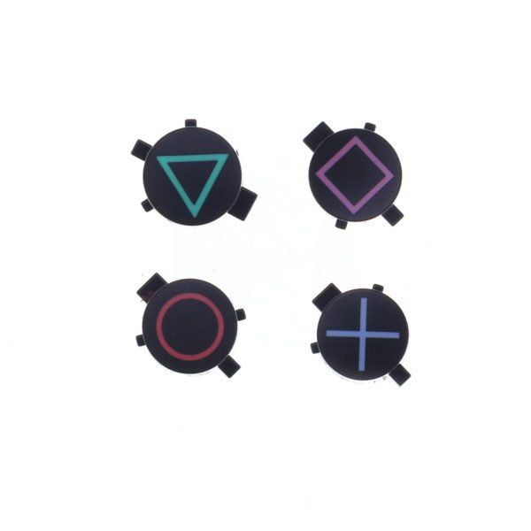 4Pcs Replacement Gamepad ABXY Button for Sony Playstation Dualshock 4 PS4 030 040 Game Controller Circle Square Triangle 1