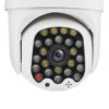 GUUDGO 8X Zoom 23LED 5MP 1080P HD Wifi IP Security Camera Outdoor Light & Sound Alarm Night Vision Waterproof 4