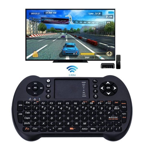 S501 2.4G Wireless Keyboard With Touchpad Mouse Game Held For Android TV Box/Xbox 360/Windows PC 1