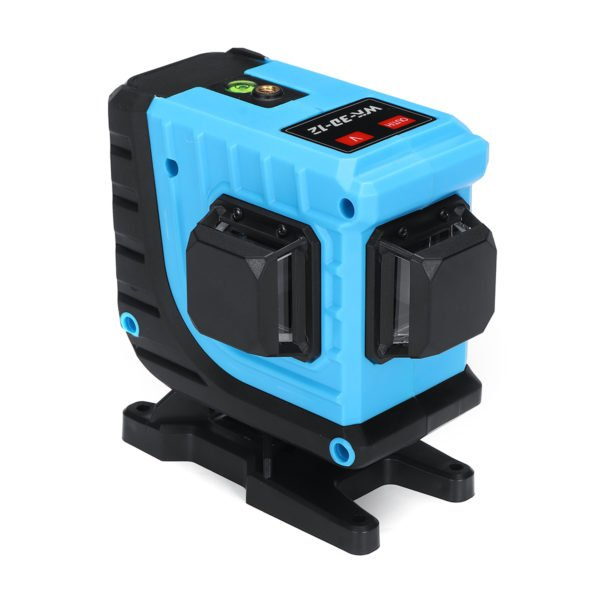12 Lines 360° 3D Cross Lines Green Laser Level Self Leveling APP/Remote Control 1