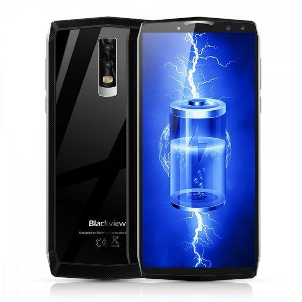 Blackview P10000 Pro 5.99 Inch FHD+ Full Screen 4GB RAM + 64GB ROM MT6763 Octa Core Smartphone Glass Silver 1