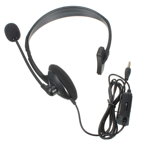 Wired Gaming Headset With MIC & Volume Control For Play Station 4 PS4 1