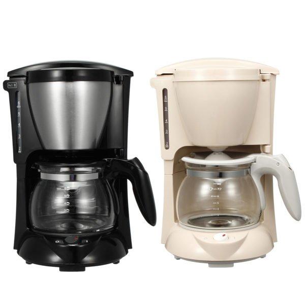 Mini American Coffee Drip Coffee Machine Portable Coffee Maker Home Espresso Coffee Grinder 1