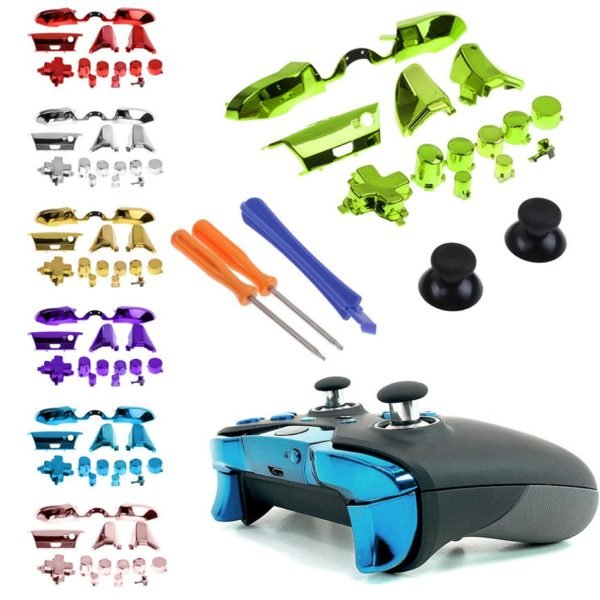 Game Controller Bumper Triggers Buttons Replacement Full Set D-pad For Xbox One Elite X1 1