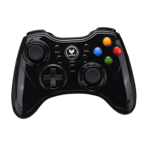 RAPOO V600S 2.4G Wireless Vibration Game Controller Joystick for PlayStation PS3 Android Windows PC 1