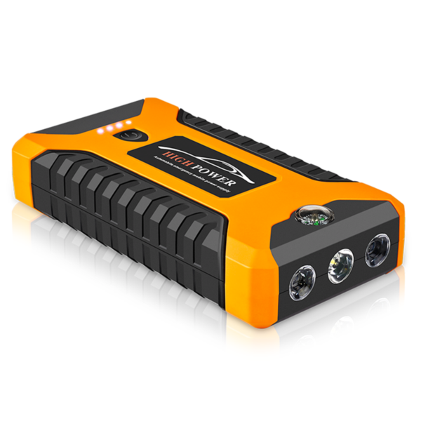 99800mah 600A Peak Car Jump Starter Lithium Battery with LED SOS Mode 12V Auto Battery Booster 1