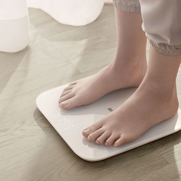 XIAOMI 2.0 Intelligent bluetooth Weight Scale Smart APP Control Precision Weight Scale LED Display Fitness Yoga Tools Scale Support Android IOS 1