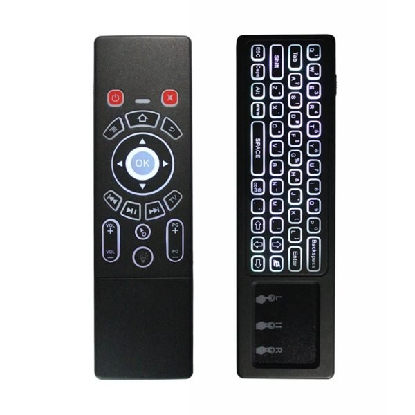 T6 2.4G Wireless Air Mouse Keyboard With Touchpad IR Learning For Android TV Box/Xbox/PC/Smart TV 1