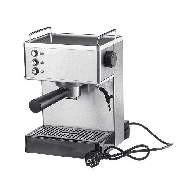 1050W Coffee Machine Espresso Cappuccino Latte Drink Maker Milk Steamer 1